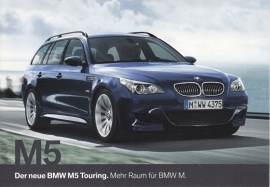 M5 Touring, large size postcard, 18 x 12,5 cm, German