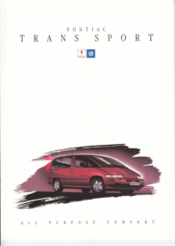 Trans Sport 1994, 14 page folder, Dutch language