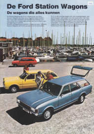 Station Wagons brochure, 8 pages, 12/1973, Dutch language