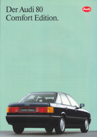 80 Comfort Edition brochure, 6 pages, about 1991, German language