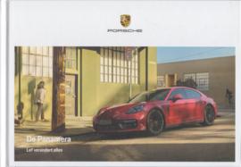 Panamera brochure, 160 pages, 08/2019, Dutch language, hard covers