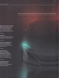 McLaren Automotive Magazine, A4-size, 32 pages, German language, 2014, # 3