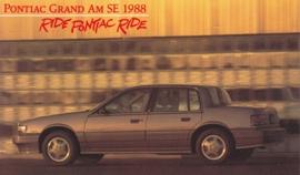 Grand Am SE, 1988, standard-size, USA