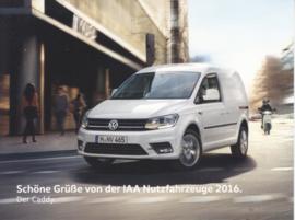 Caddy Van, larger size postcard, 18 x 13,5 cm, 2016, German