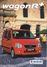 Wagon R + brochure, 20 pages, #90300, 2000, Dutch language