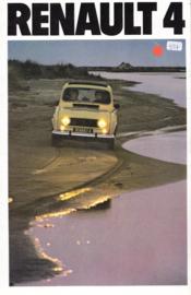 4 brochure, 16 pages, 1980, German language