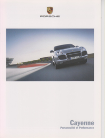 Cayenne brochure, 6 pages, 11/2004, French