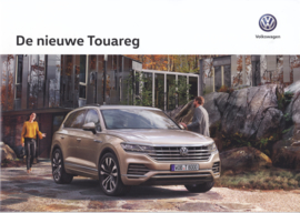 Touareg brochure, A4-size, 28 pages, 04/2018, Dutch language