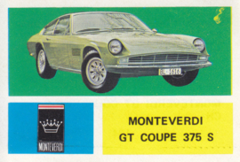 Monteverdi GT Coupé 375 S, 4 languages, # 124