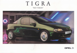 Tigra Rio Verde special edition leaflet, 2 pages, 08/1996, Dutch language