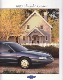 Lumina 1998, 30 pages, 07/1997, English language, USA