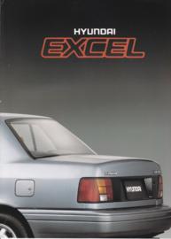 Excel brochure, 4 pages, about 1990, Dutch language