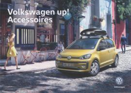 up! accessories brochure, A4-size, 4 pages, 2019, Dutch language