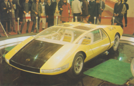 Toyota EX 7 collectors card, Japanese text, number 51, 1977