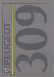 309 brochure, 34 pages, A4-size, 1992, Dutch language