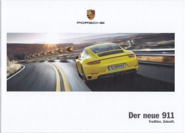 911 Carrera brochure, 160 pages, 03/2016, hard covers, German