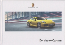 Cayman/Cayman S brochure, 138 pages, 10/2012, hard covers, Dutch