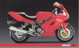Ducati ST4s, continental size postcard, English language