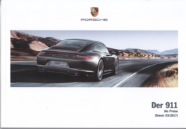 911 Carrera pricelist brochure, 104 pages, 03/2017, German