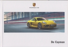 Cayman/Cayman S brochure, 138 pages, 06/2013, hard covers,  Dutch