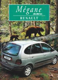 Mégane  Scenic brochure, 48 pages, 01/1997, Dutch language