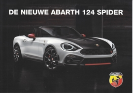 124 Spider card, DIN A-5 size, Dutch language, 2016