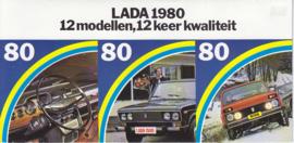 Program all model brochure, 8 pages, 12/1979, Dutch language (Belgium)