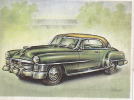Chrysler New YorkerNewport Coupé 1951, Full Speed, Dutch language, # 145