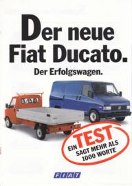 Talento & Ducato brochure, 4 pages, 02/1991, German language