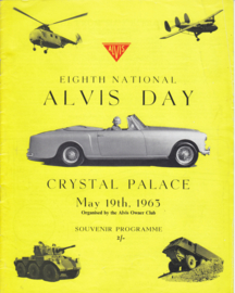 Alvis Owner Club magazine,  12 pages, English language, May 19th, 1963