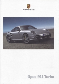 911 Turbo brochure, 132 pages, 12/2005, hard covers, German