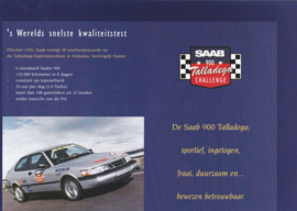 900 Talladega speed record brochure, 8 pages, 10/1996, Dutch language, # 270454