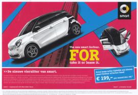 Forfour leaflet,  2 pages, 2015, Dutch language