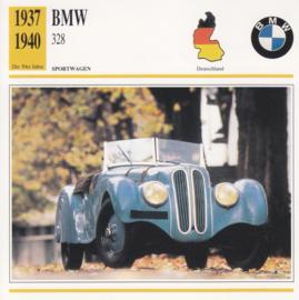 BMW 328 Roadster card, Dutch language, D5 019 03-09