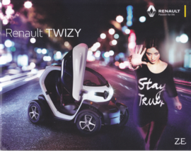 Twizy electric vehicle brochure, 28 pages, 03/2017, German language