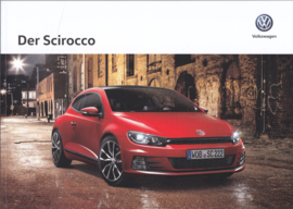 Scirocco brochure, A4-size, 44 pages, 05/2017, German language