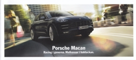 Macan introduction brochure, 16 pages, 2014, Swedish