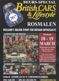 British Cars & Lifestyle 2017 ,  A4-size, 84 pages, Dutch language
