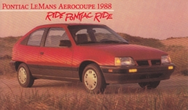 LeMans Aerocoupe, 1988, standard-size, USA