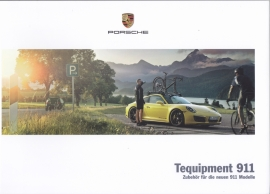 911 Carrera Tequipment brochure, 72 pages, 09/2015, German