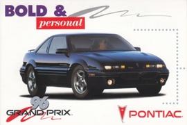 Grand Prix, US postcard, continental size, 1996