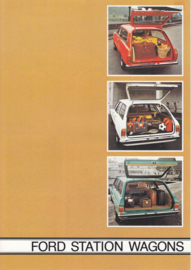 Station Wagons brochure, 6 pages, 6/1976, Dutch language