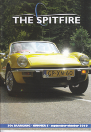 The Spitfire club magazine,  A5-size, 52 pages, Dutch language, issue 5 (2010)