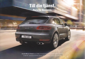 Macan S Diesel Business edition, 03/2015, A5-size, 2 pages, Sweden