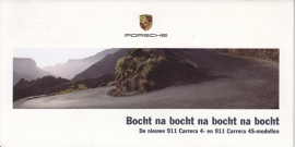 911 Carrera 4 / 4S, 10 small glossy pages, 07/2005, Dutch