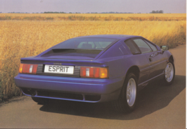Esprit S sportscar, 2 page leaflet, DIN A4-size, factory-issued, 1991, English