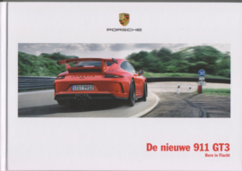 911 GT3 brochure, 124 pages, 03/2017, hard covers, Dutch