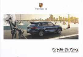 Insurance Car Policy brochure, 6 pages, 11/2016, German language