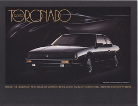 Toronado Troféo 1988, 2 pages, export, German language