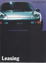 911 Carrera leasing, 8 pages, 1994, German
